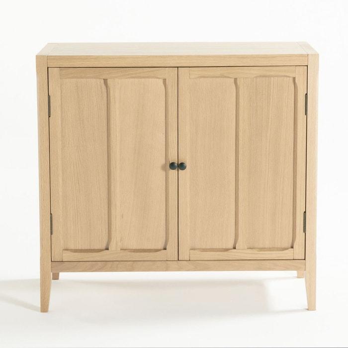 armoire basse 2 portes eug nie la redoute interieurs la redoute. Black Bedroom Furniture Sets. Home Design Ideas