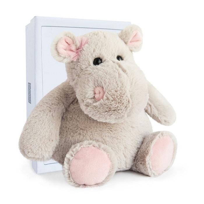 hippo girl 25cm ho2628 gris histoire d 39 ours la redoute. Black Bedroom Furniture Sets. Home Design Ideas