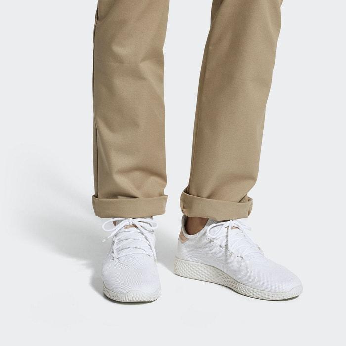 Baskets adidas x pharrell williams pw tennis mesh-44-blanc blanc blanc Adidas