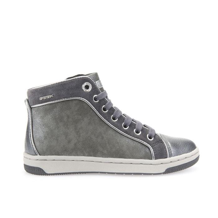 Baskets j creamy e gris Geox   La Redoute c1c396bb2a4b