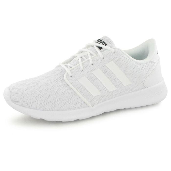 Clouffoam qt racer blanc Adidas