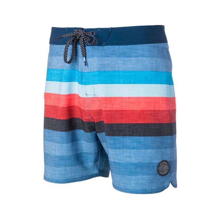 49af613c67 Short de bain piscine à rayures Rip Curl rayé bleu | La Redoute