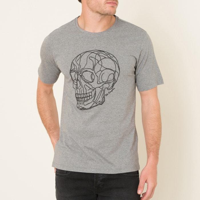 afbeelding T-shirt met doodskop THE KOOPLES