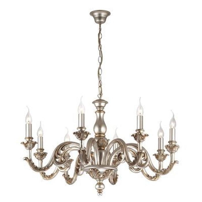 lustre giglio argent 8x40w ideal lux 075334 boutica design la redoute. Black Bedroom Furniture Sets. Home Design Ideas