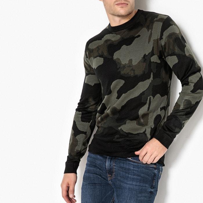 Image Pull con scollo rotondo in maglia sottile La Redoute Collections