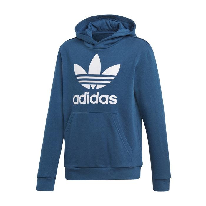 5ae58b54425cb6 Printed hoodie, 7-14 years , navy blue, Adidas Originals | La Redoute