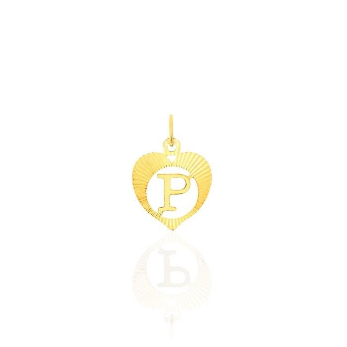 Pendentif lettre coeur p or jaune jaune Histoire D'or   La Redoute Vente Meilleur Endroit R7AATcMg4Z