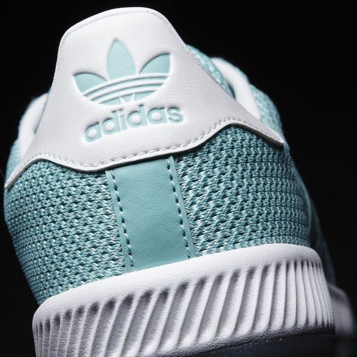 Chaussure superstar bounce vert Adidas Originals