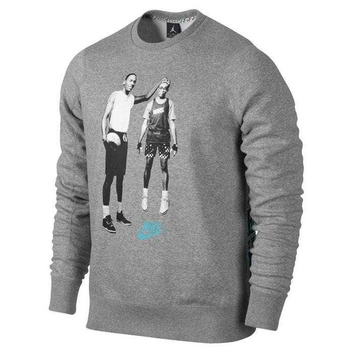 b1e2a05a252 Sweat nike jordan mike and mars fleece - 547675-064 gris Nike