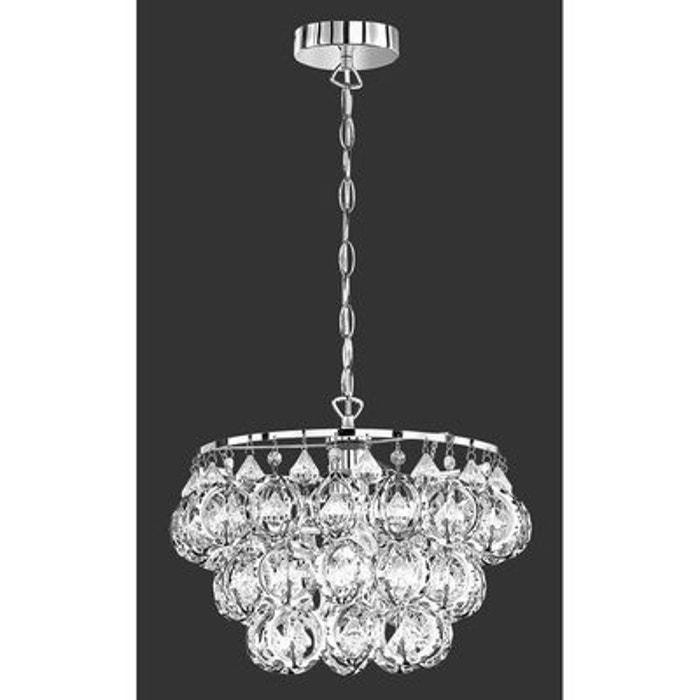 suspension victoria chrome trio lighting trio la redoute. Black Bedroom Furniture Sets. Home Design Ideas