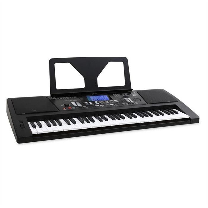sub61 clavier usb midi 61 touches noir couleur unique. Black Bedroom Furniture Sets. Home Design Ideas