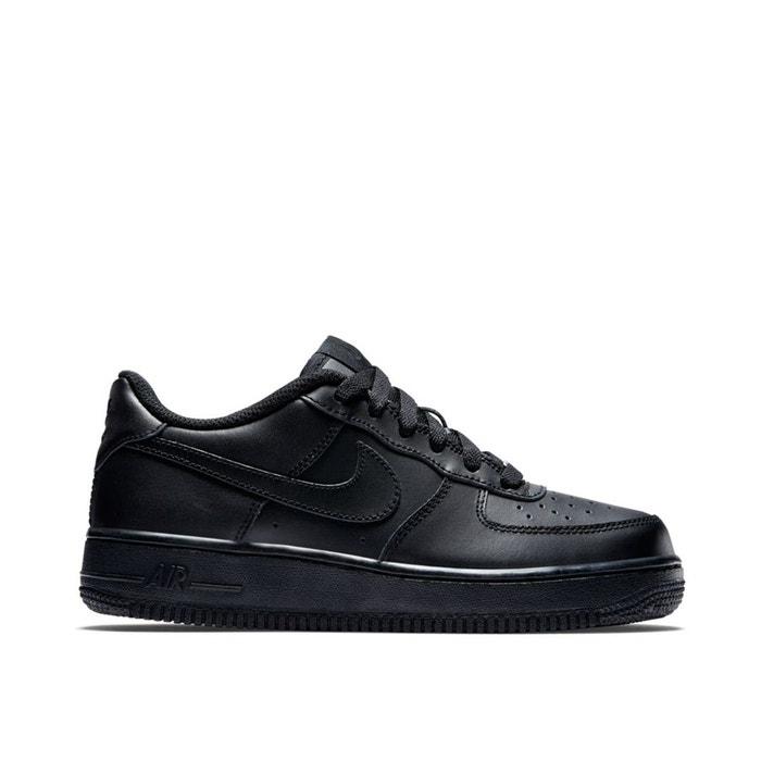 reputable site 80326 9cd0b Baskets air force 1 (gs) noir Nike   La Redoute