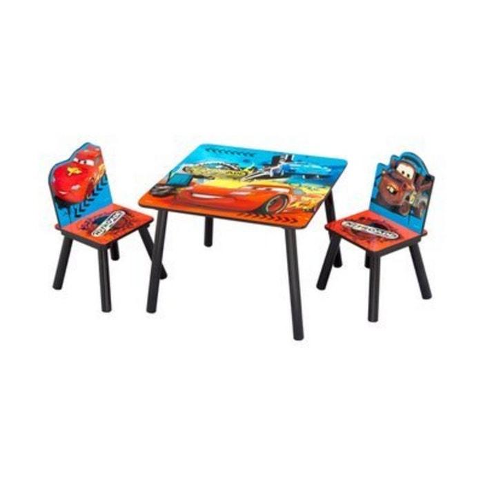 baby walz l 39 ensemble table et chaises disney cars meubles enfant rouge baby walz la redoute. Black Bedroom Furniture Sets. Home Design Ideas