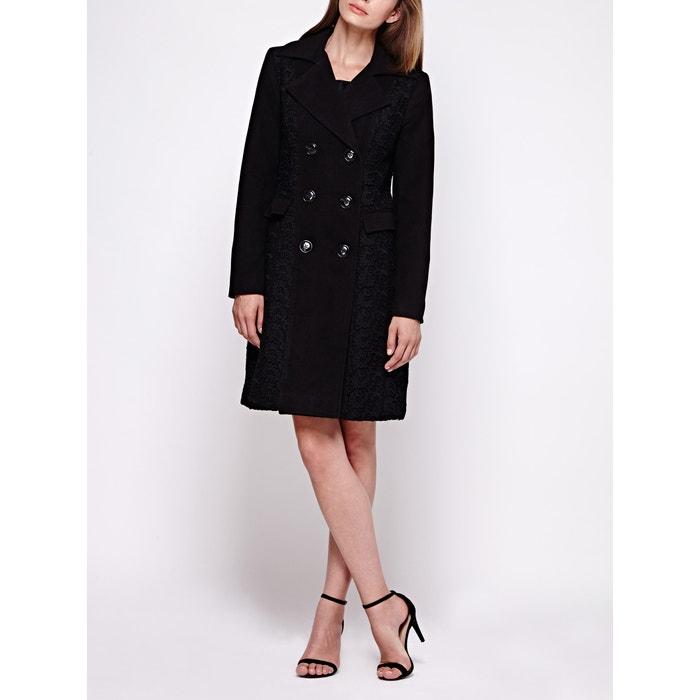 afbeelding Lange jas in caban stijl YUMI
