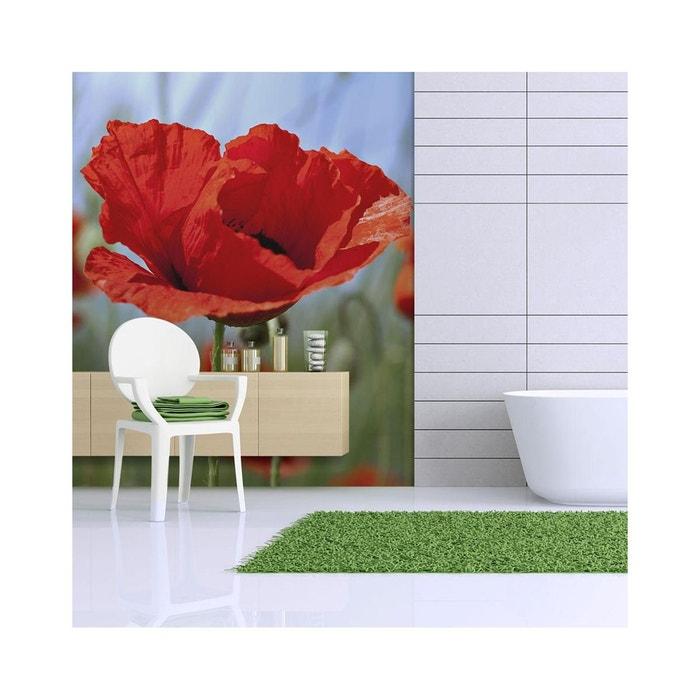 papier peint coquelicots couleur rouge intense dimension 250x193 recollection la redoute. Black Bedroom Furniture Sets. Home Design Ideas