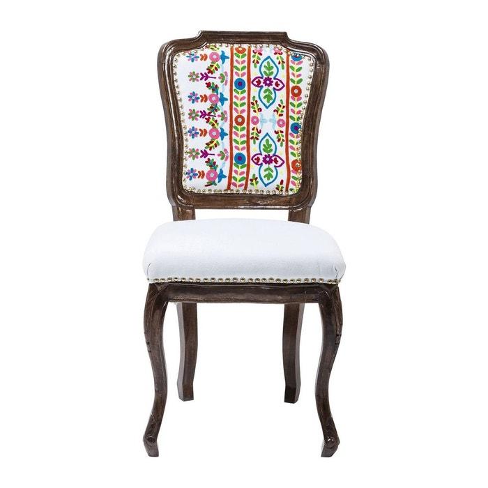 Chaise lotta kare design multicolore kare design la redoute for Chaise multicolore