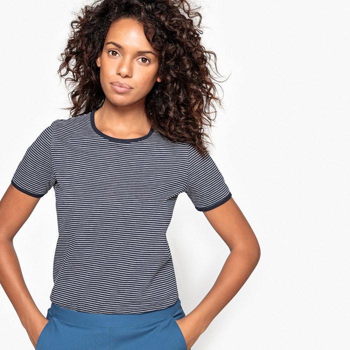Tee-shirt basique à rayures  La Redoute Collections image 0