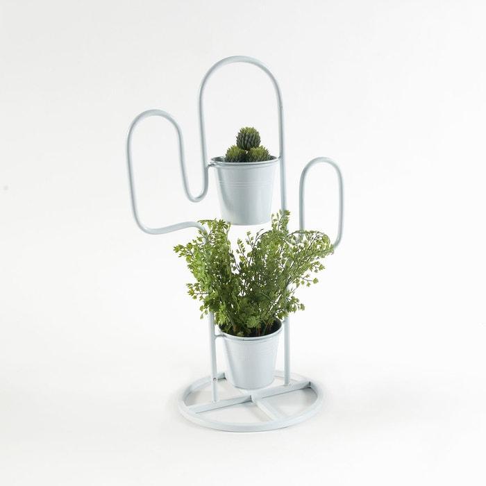 cache pot cactus en m tal tuscaliro blanc la redoute interieurs la redoute. Black Bedroom Furniture Sets. Home Design Ideas