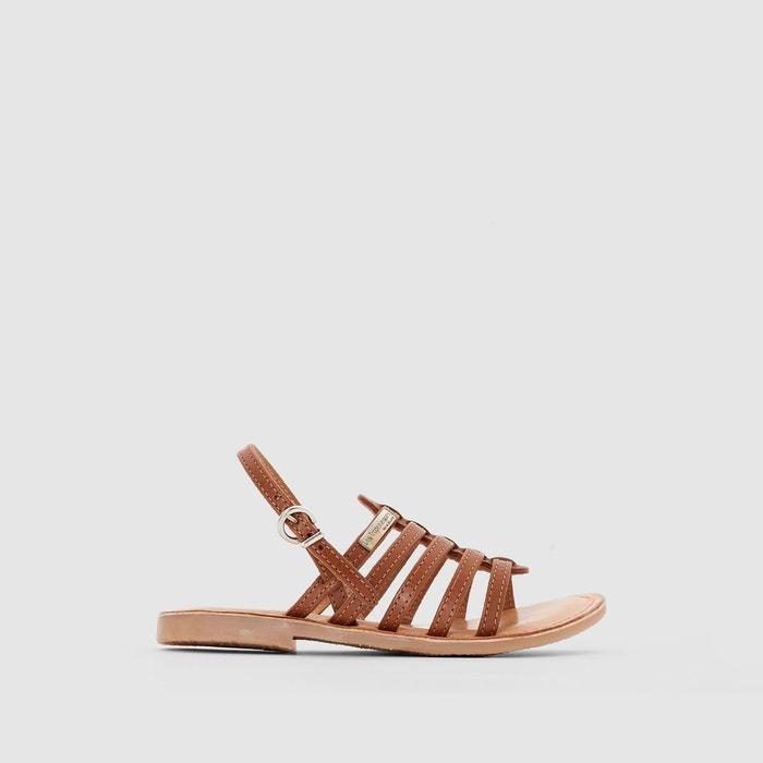 Sandales multi-brides en cuir