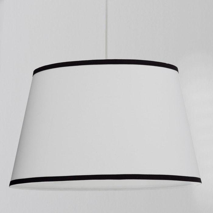 abat jour pour suspension arina la redoute interieurs blanc la redoute. Black Bedroom Furniture Sets. Home Design Ideas