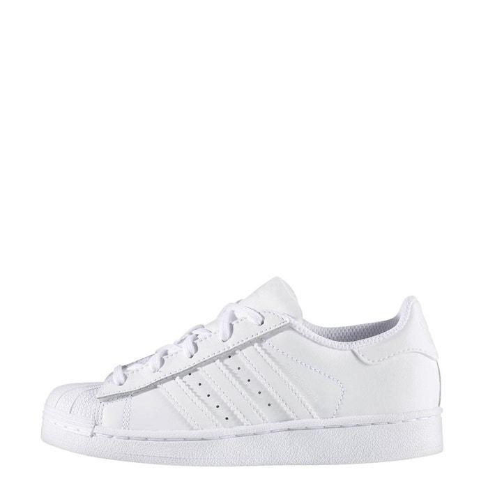 Baskets chaussure superstar blanc Adidas