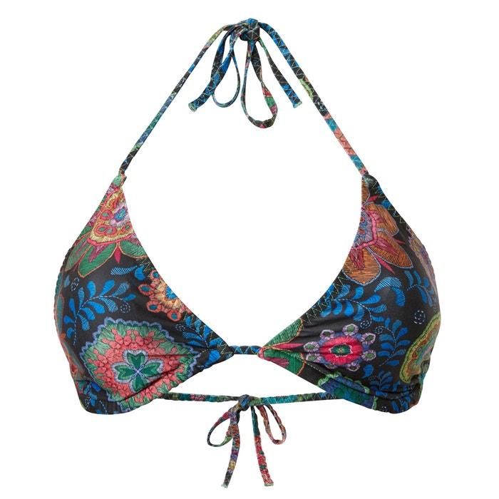 Sujetador 233;tnico bikini de Collections Redoute motivo tri de La 225;ngulos con wHfRgE