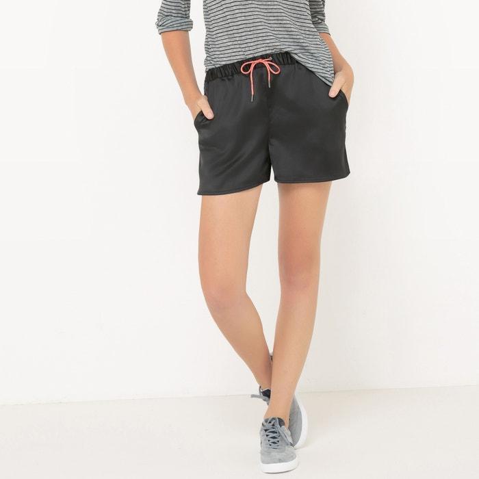 Satin Look Shorts