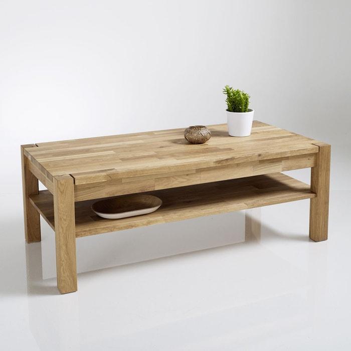 Table basse chêne huilé, Adelita La Redoute Interieurs