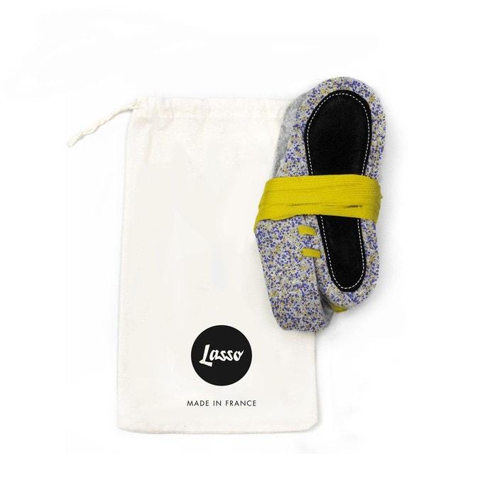 Chaussons lasso x briagell adultes jaune Lasso Shoes