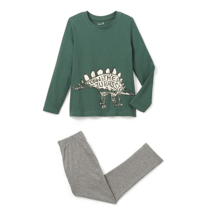 "Image Pyjama coton ""dinosaure"" 2-12 ans R édition"