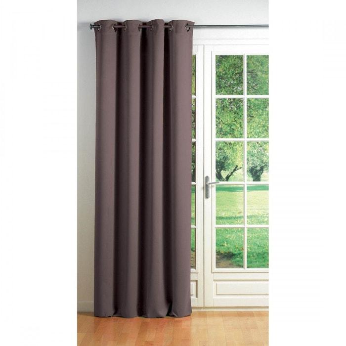 rideau occultant oeillets uni cocoon douceur d interieur la redoute. Black Bedroom Furniture Sets. Home Design Ideas