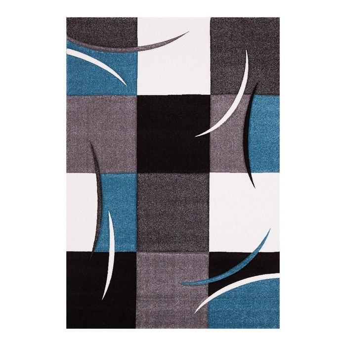 tapis dintrieur pour salon bleu california allotapis image 0 - Tapis De Salon Bleu