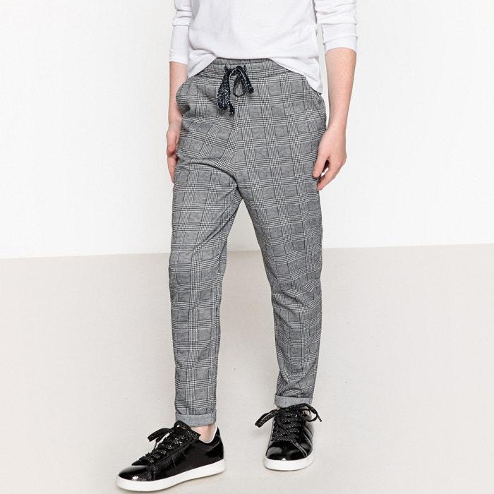Pantaloni a quadri in felpa 3 - 12 anni  La Redoute Collections image 0