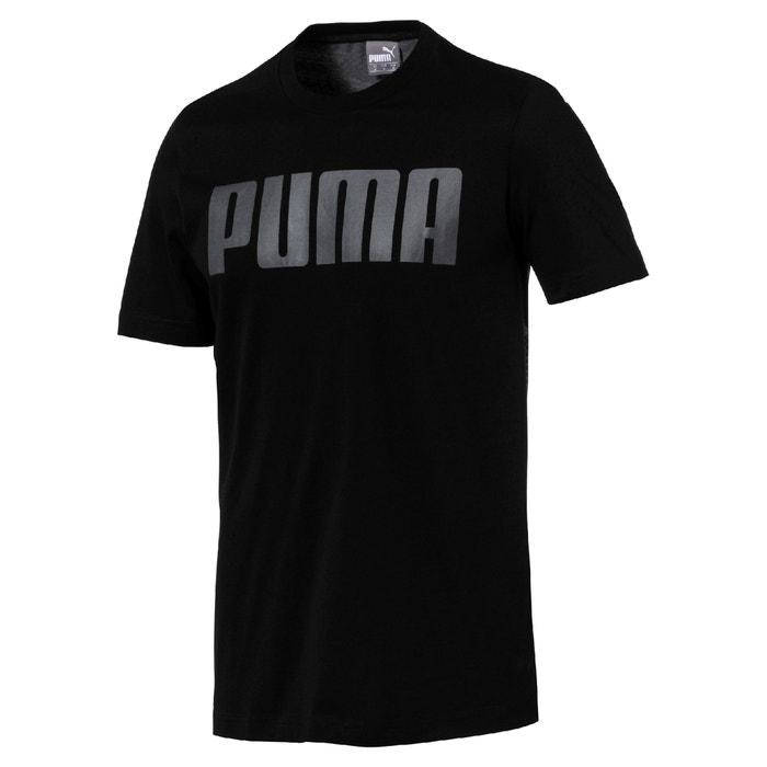 Camiseta y manga cuello PUMA estampado delante de redondo con corta dIwPPU