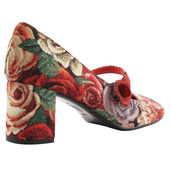 Chaussures à talons jane multicolore Exclusif Paris