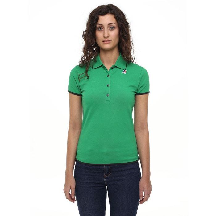 Polo elsie stretch binding kelly green-torba K-Way   La Redoute 225f483048e