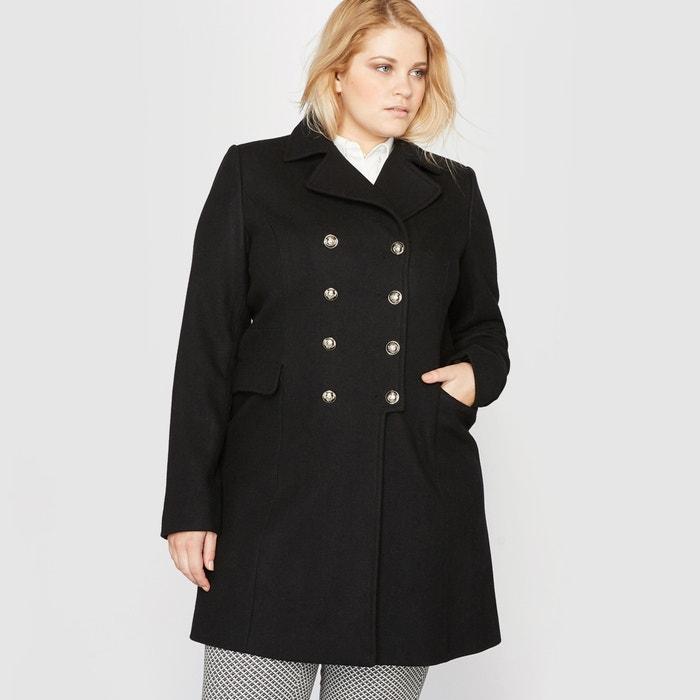 Bild Mantel im Uniformstil, Wollmix CASTALUNA