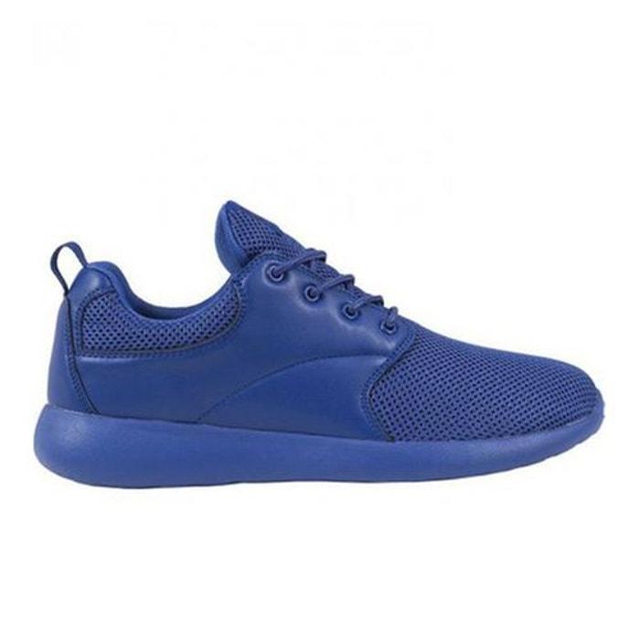 Urban Classics Baskets bi-matière RUNNER Bleu - Chaussures Baskets basses Femme