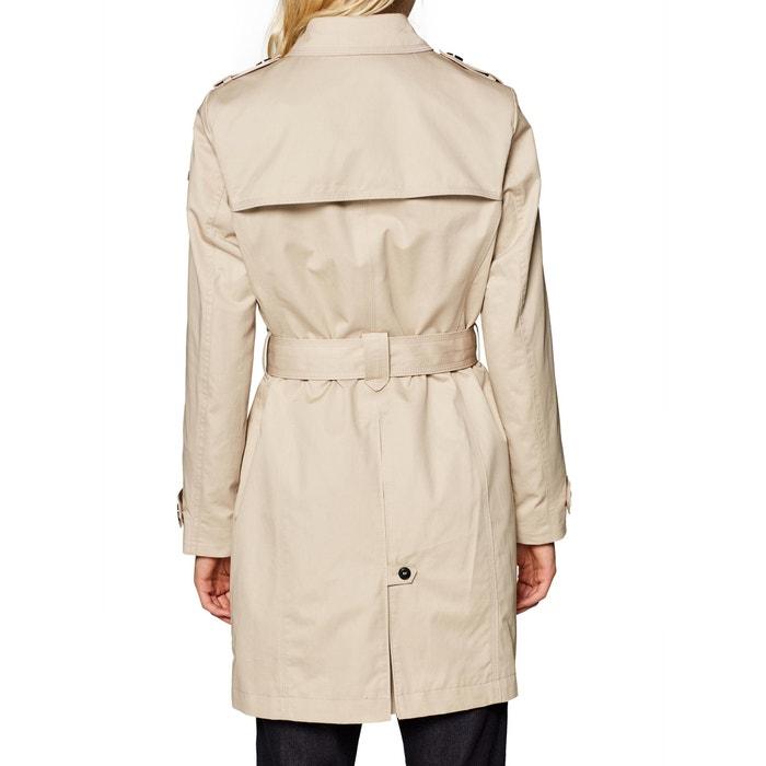 012ad5379665 Trench-coat en coton à ceinture - ESPRIT