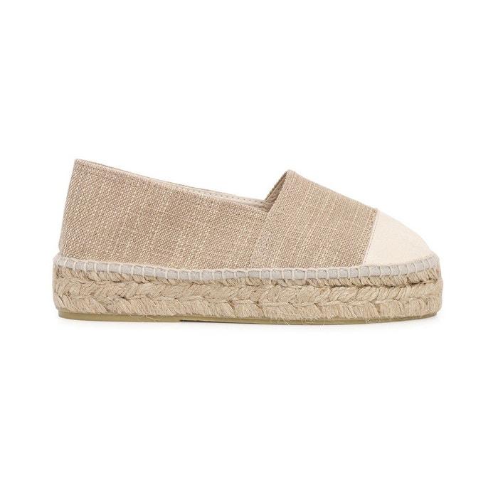 Pas Cher Abordable Sortie D'usine Espadrille nyx beige Polka Shoes 2018 Prix Pas Cher Vente 100% Authentique DUsfK0GN