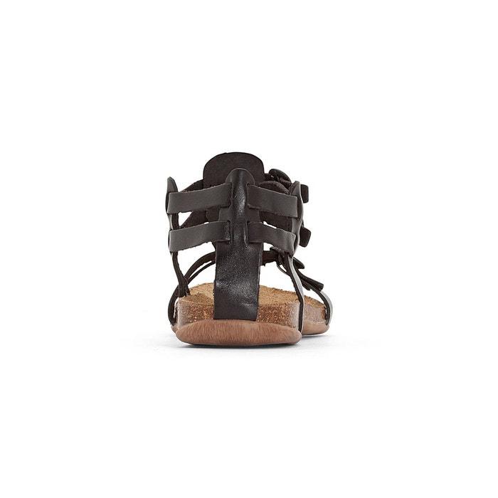 Kickers Sandals Ana Leather, Flat Heel