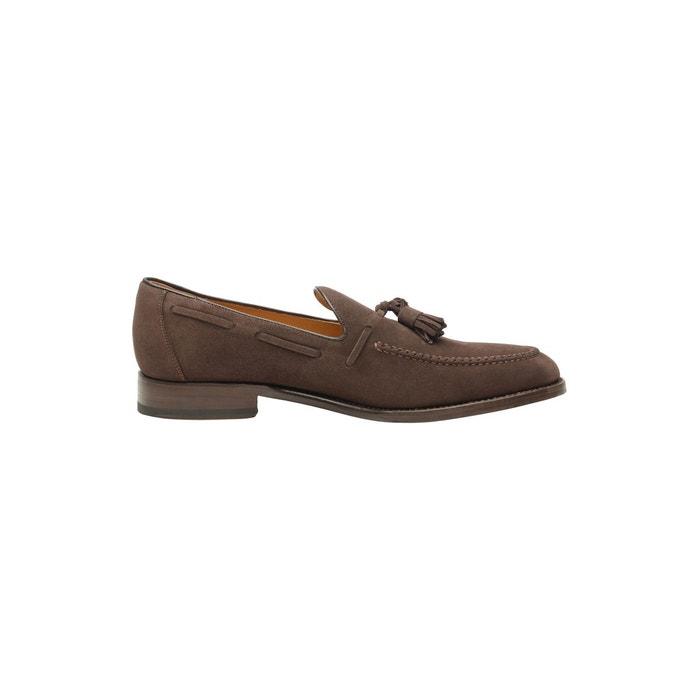 Chaussures bateau en cuir marron  marron Shoepassion  La Redoute
