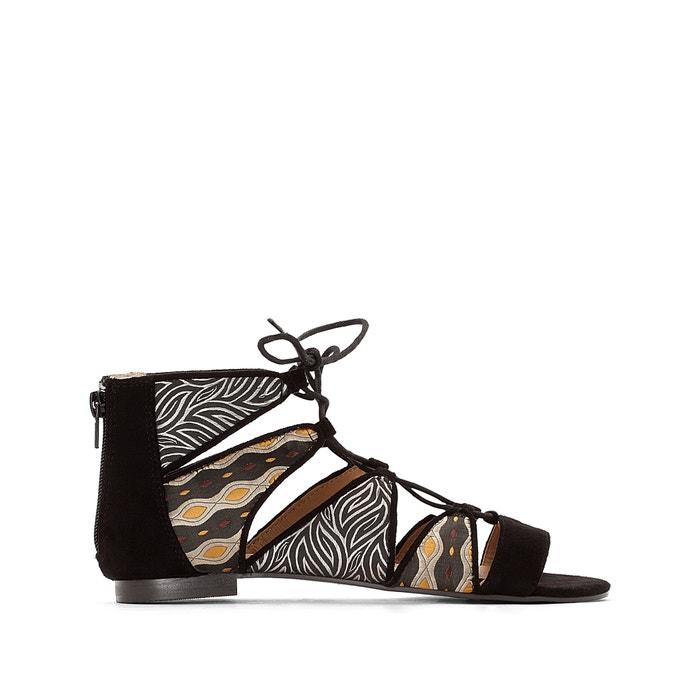 afbeelding Bedrukte sandalen La Redoute Collections