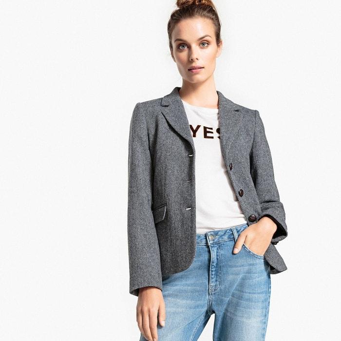 Veste blazer chevrons La Redoute Collections