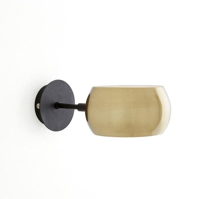 5d497ddd461 Aplique de metal negro y latón elori negro latón La Redoute Interieurs