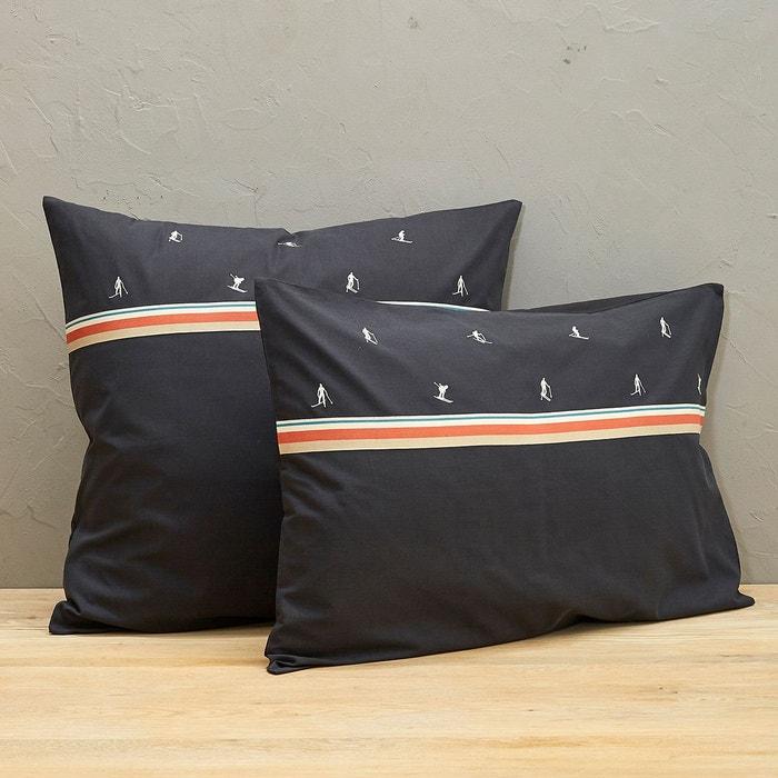 taie d 39 oreiller mountain sylvie thiriez la redoute. Black Bedroom Furniture Sets. Home Design Ideas