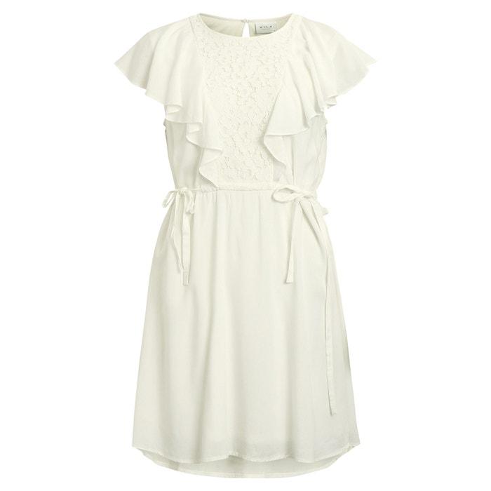 Vestido blanco vila clothes
