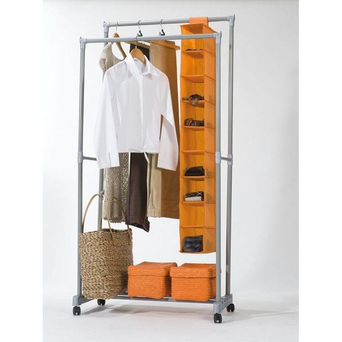 portant double firmin acier compactor la redoute. Black Bedroom Furniture Sets. Home Design Ideas