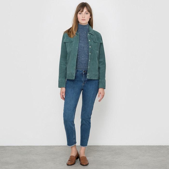 Image Suede Leather Jacket R studio