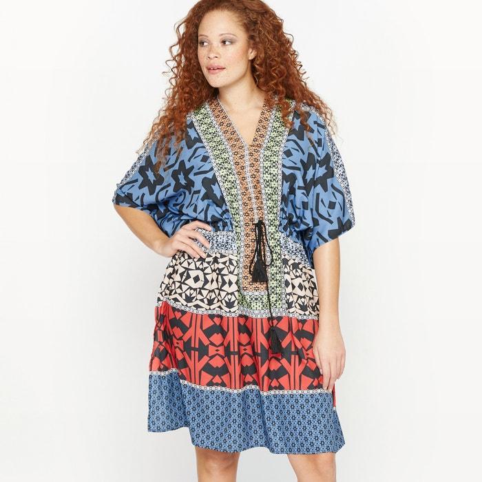 Image Check Print Dress CASTALUNA